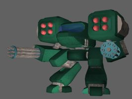 3D Mech ver 2 by Axixion