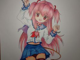 Yui (Angel Beats) by MasteringAnime