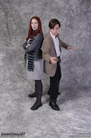 The Doctor and Amy Pond - Night Terrors by freyalise