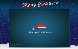 Christmas Pixel by Billysut