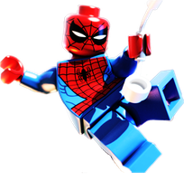 Lego Marvel Super Heroes icon alt 2 by theedarkhorse