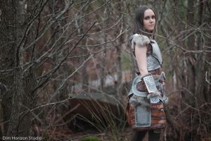 Lydia from the Elder Scrolls V: Skyrim by LyddiDesign