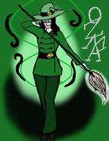 2nd Gen- Glorious Green Witch by a-little-odd
