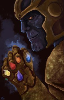 Thanos by shaunamobley