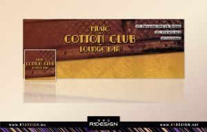 Cotton club - FB cover + pic by R1Design