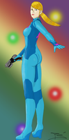 Zero Suit Samus by LordRoderick