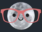 Cute Moon by apparate