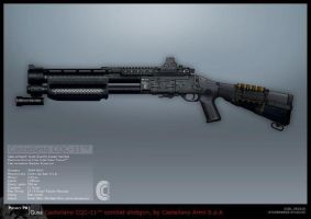 Syndicate Concept Art - Shotgun by torvenius