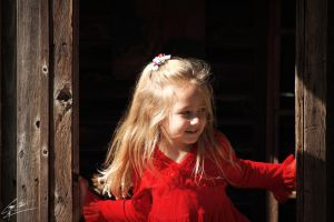 Me And My Little Red Dress - 2 by SevenPhotoDFW