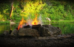 Country Campfire by Prestige-Photography
