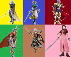 6 Choosen warriors by Redchampiontrainer01