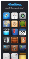 Marvelous HD iOS 5 Theme by JackieTran