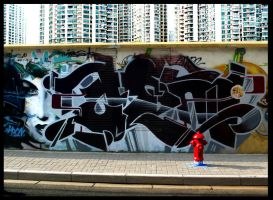Shanghai Graffiti 72 by sylences