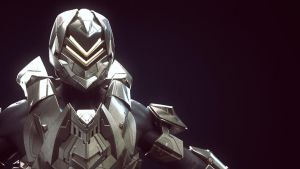 Halo 4 Armor Suit - Venator - Highpoly Render by JoshEH-Photo