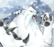 Polar pokemon by Kipine
