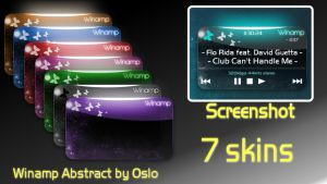 7 skins to Winamp Abstract by xOslox