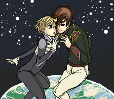 More Gundam Wing 3 x 4 by O-Kei