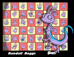 Randall Boggs' Expressions by ItalianShorty