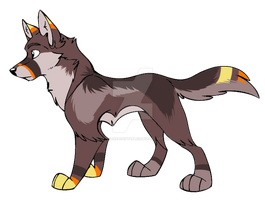:Wolf Adopt:6:CLOSED: by NightmareAdoptables