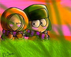 Kyle and Kenny 83 by JenMysterion