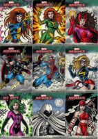 Marvel Masterpieces 3 Cards D by tonyperna