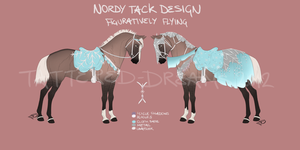 Nordy Tack Design: Figuratively Flying 2577 by Tattered-Dreams