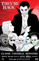 Classic Universal Monsters by DanShive