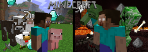 Minecraft Fan Made Wallpaper by nini55