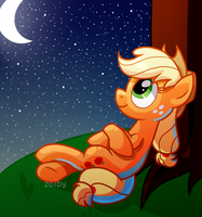 MLP Applejack by Zoiby