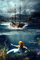 Partenope: a neapolitan mermaid by theskyinside