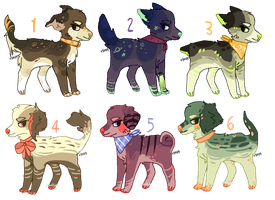 cheap pup adopts - closed by Adoptablue