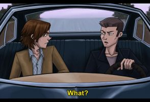 Sam and Dean by pyrogina