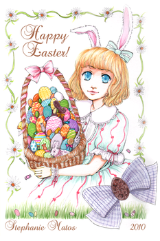happy easter by suppichan