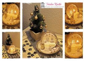 Christmas Cup Upcycling Project by FrlKreativ