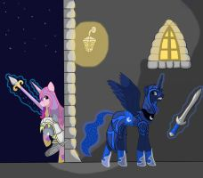 assassin's creed brotherhoof: gamer luna session by Lucandreus