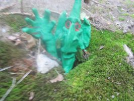 Gnome Hole (my clay gnome) by GoldenWordsOfLies