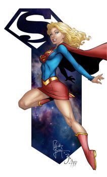 Supergirl colour by AlexxiaTM by AlexxiaTM