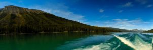 Jasper National Park Pano #3 by KRHPhotography