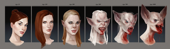 Vampire Transformation by he-burrows