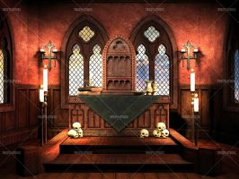 Chamber Of Rituals by Trisste-stocks