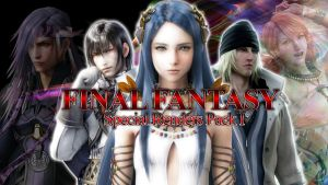 Final Fantasy Special Renders Pack I by jin-05