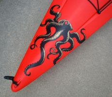 Kayaktopus... kayak art by merimask