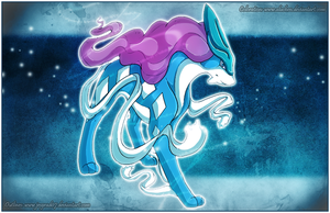 Suicune by aluchen