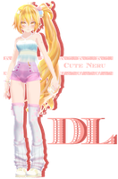 .:TDA Cute Neru DL:. by Crystallyna
