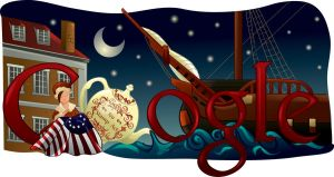 Doodle For Google- American Revolution by Vuel
