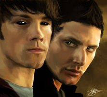 Sam and Dean by ArchXAngel20