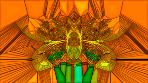 Fractal GIMP Moth by kofferwortgraphics