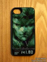 iCodec - iPhone 5 case by VioletValhalla