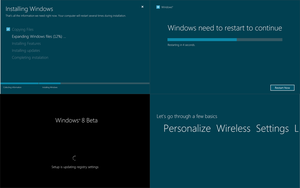 Windows 8 Beta Installation 3 by arcticpaco