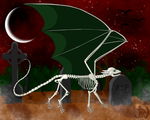 The Bones of Dragon by DragonThunderstorm